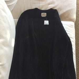 Urban Outfitters extra long black sweater